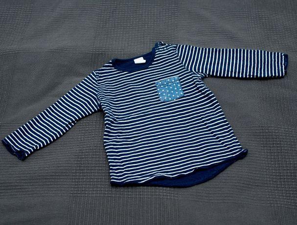 HM bluza w paski 80/86 cm
