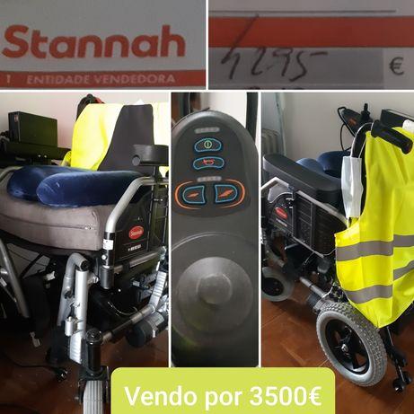 Cadeira de rodas elétrica Mobi da Stannah
