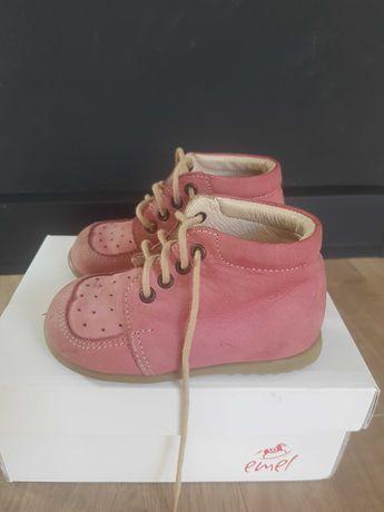 Buty trzewiki Emel dla dziewczynki, rozmiar 21