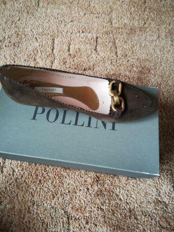 Продам замшевые итальянские туфли