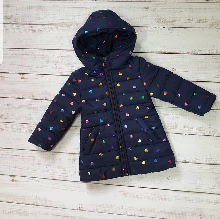 Курточка осенняя теплая на девочку Бобровица - изображение 1