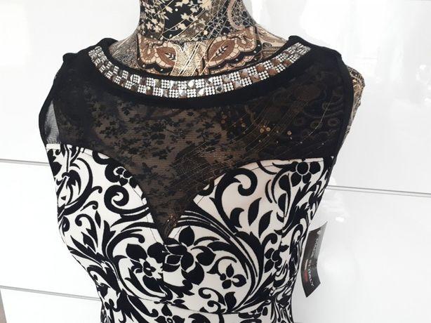 Nowa sukienka czarno- biała