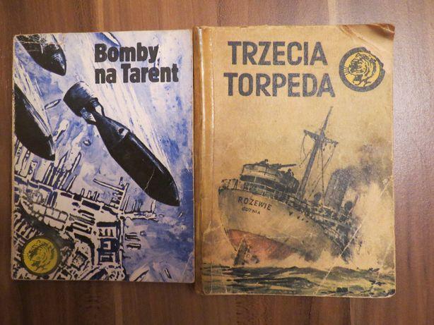 """Dwie książeczki z serii """"Żółty Tygrys"""""""