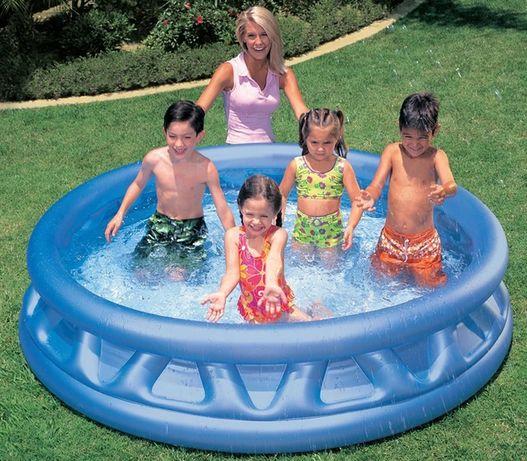Детский надувной бассейн Intex. Летающая тарелка
