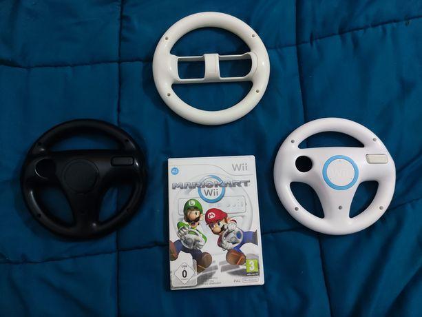 Mario KART WII + 3 volantes
