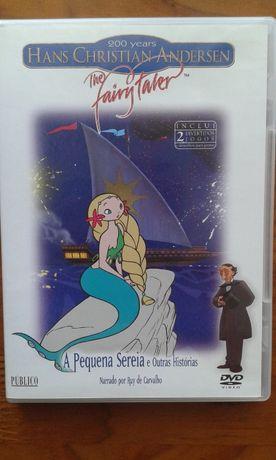 DVD infantil A pequena sereia e outras e outras histórias