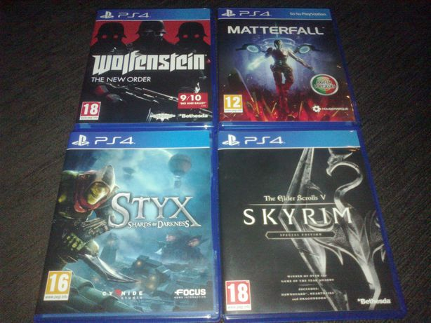 Jogos PS4