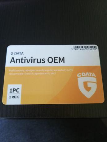 Antywirus OEM g data 1 rok