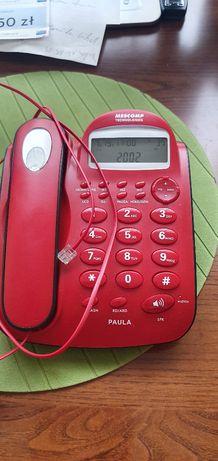 Stacjonarny telefon -przewodowy PAULA