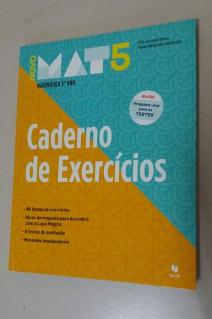 Novo MAT5 - Matemática 5° Ano - Caderno de Atividades (novo)