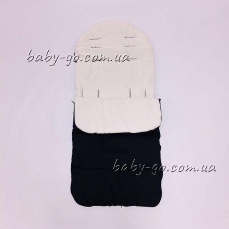 универсальный теплый конверт в коляску или санки на флисе yoya.йойа