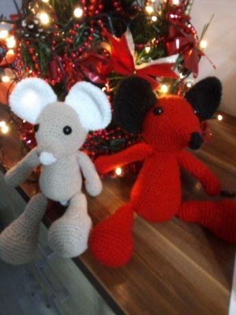 Śliczne myszki ręcznie robione
