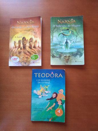 Narnia / Teodora - Livros