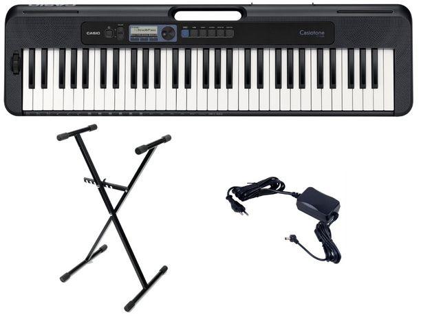 Keyboard Casio CT S300 DANCE MUSIC Komplet STATYW Zasilacz