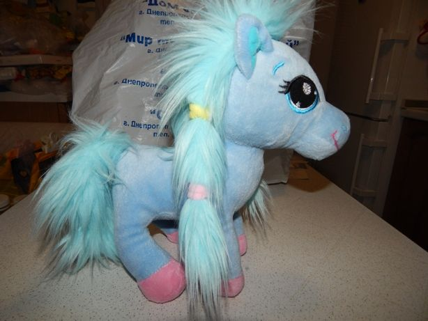 Голубая пони лошадка ТМ Gulliver.