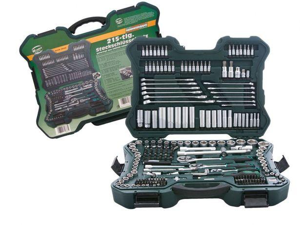 Оригинал ! Набор инструментов Mannesmann ключи, головки, 215 шт!