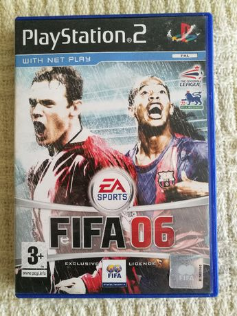 Gry PS2 - FIFA 06 - Playstation 2 - Super Gra RETRO