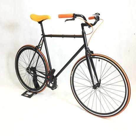 Rower miejski Single speed ostre koło BALUMA Black Manadarin 56