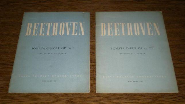 Beethoven - Sonata C-Moll Op.10 cz.I i D-dur Op.10 cz.III - nuty 1947