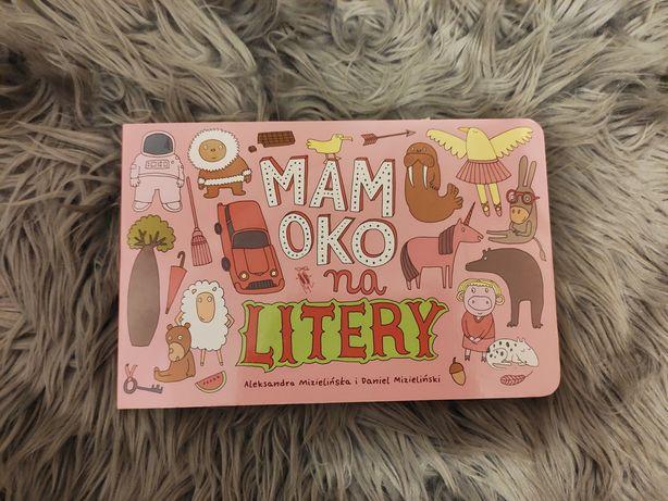 Mam oko na litery książeczka dla dzieci A. Mizielińska