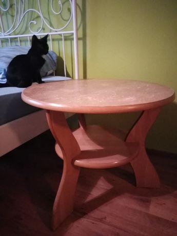 stolik kawowy okrągły, stół