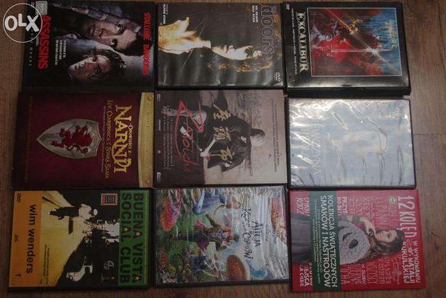Kolekcja 6 filmów DVD - różne tytuły