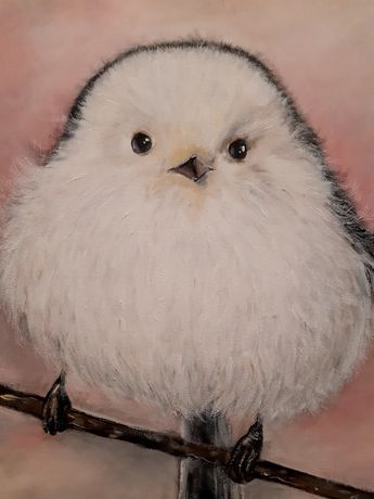 Śliczny ptaszek.
