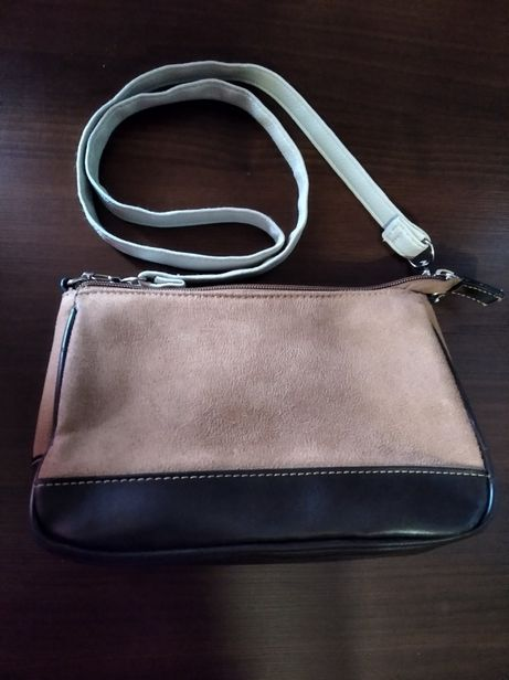 """Подарок: женская удобная сумочка """"DAViD JONES"""" 14 х 22 см."""