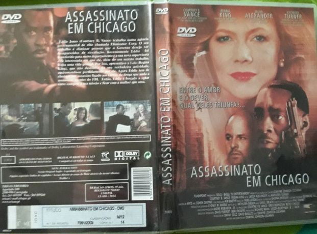 DVD Assassinato em Chicago