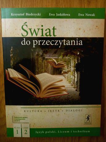 Świat do przeczytania. Podręcznik do polskiego. Klasa 1. Część 2.