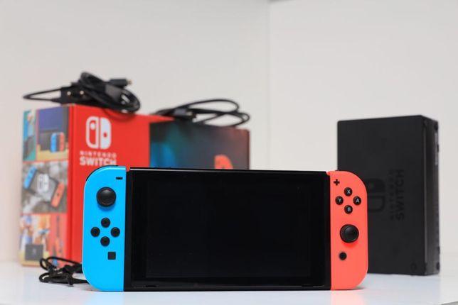Vendo Nintendo Switch como nova, foi usada 5 vezes. Preço negociavel