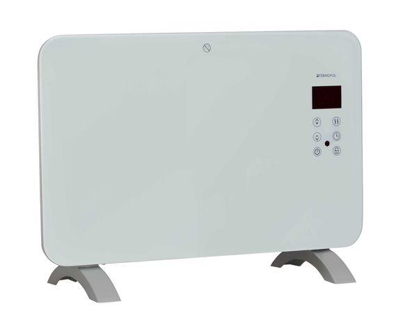 Grzejnik elektryczny Wi-Fi, szklany, aplikacja, konwektorowy