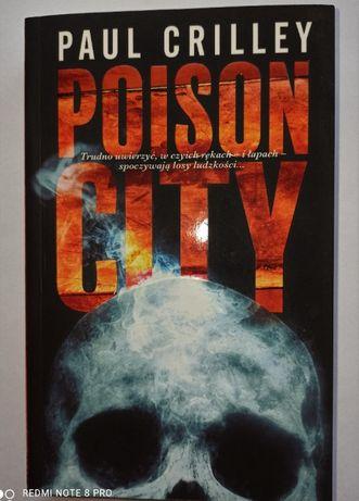 Poison City Paul Crilley horror, thriller, fantasy