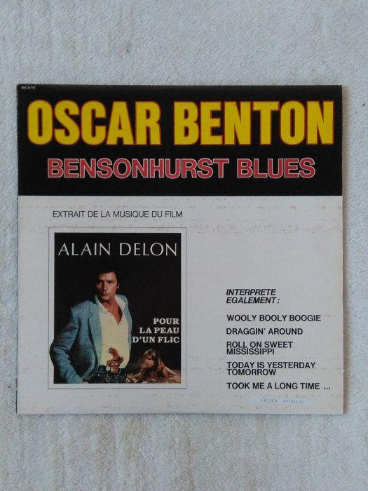 Płyta Winylowa Oscar Benton, Alain Delon, muzyka filmowa, Blues Wrocław - image 1