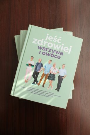 """NOWA!!! Książka """"Jeść Zdrowiej. Warzywa i owoce"""" Lidl, Kuchnia Lidla"""