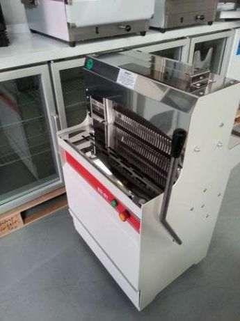 Maquina de Fatiar Pao Profissional Arisco Em Aço Resistente NOVA