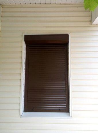 Алюминиевые оконные роллеты. Защитные ролеты на окна. Монтаж, ремонт!
