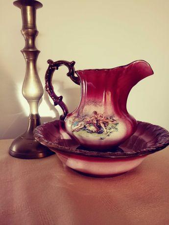 Dzban i misa, angielska porcelana