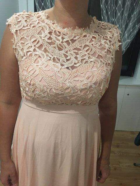 Piękna długa sukienka l xl