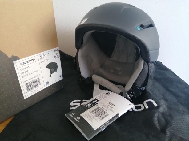 Kask narciarski Salomon ICON2 M Custom Air Black S 53-56cm