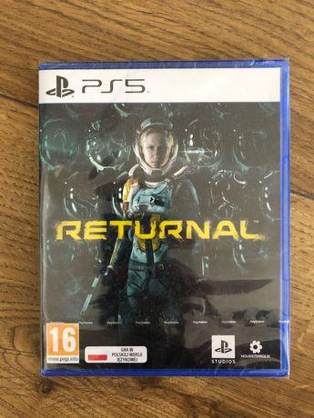 Returnal PS5 NOWA, FOLIA! Możliwa wysyłka!