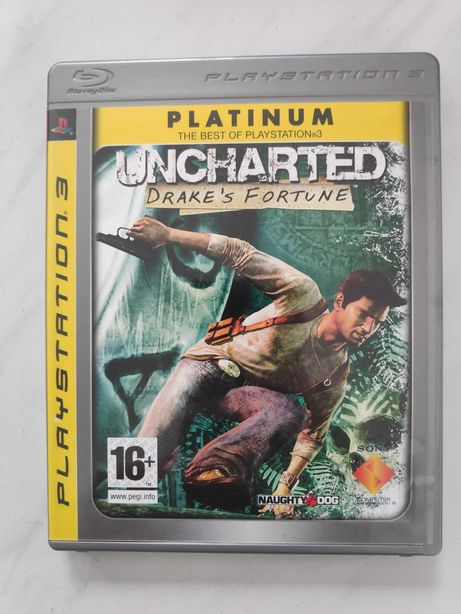 Game Playstation 3 - Jogo Uncharted: Drake's Fortune - PS3