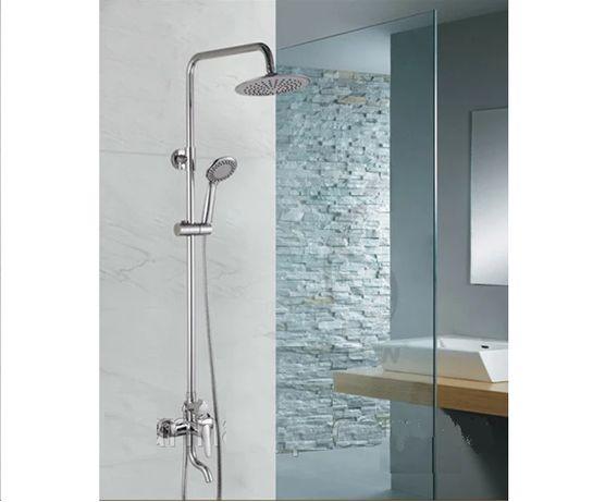 Новая стильная душ-колонна, душевая система, стойка со смесителем