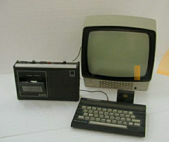 Tv Yoko a preto e branco zx spectrum