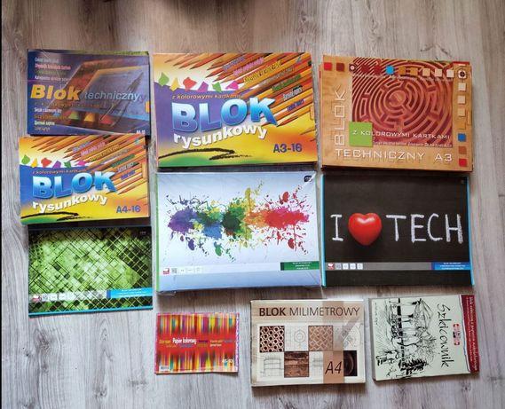 Bloki: techniczny, rysunkowy...