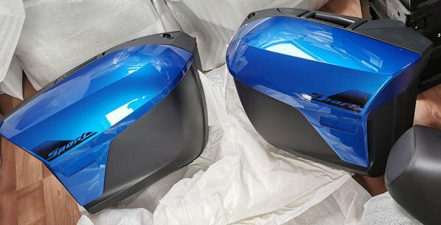 Nowe kufry  bmw k1600 gt gtl 1200rt manhattan metalic