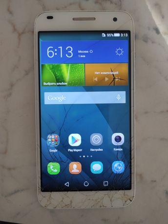 Смартфон Huawei ascend G7 под замену стекла