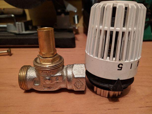 Zawór termostatyczny z głowicą do ogrzewania podłogowego
