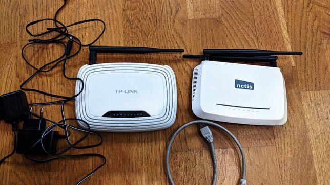 Маршрутизаторы (роутер) TP-Link TL-WR741ND+NETIS WF2419 с дефектом