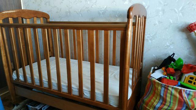 Детская кроватка Верес кровать и матрац детский